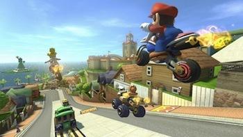 Mario Kart 8 on Wii U