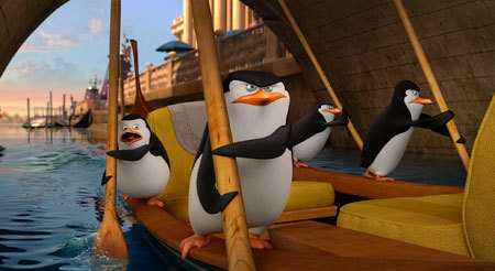 Private, Skipper, Rico and Kowalski