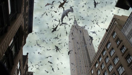 Sharks over NYC!