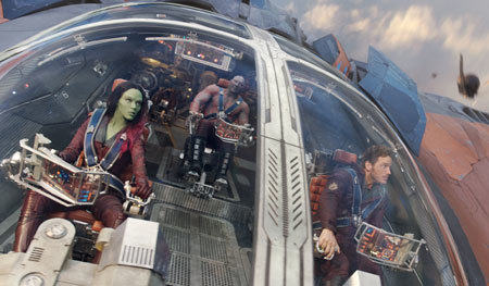 Peter Quill and the Guardians fight for the galaxy