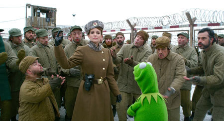 Nadya nd Kermit in prision