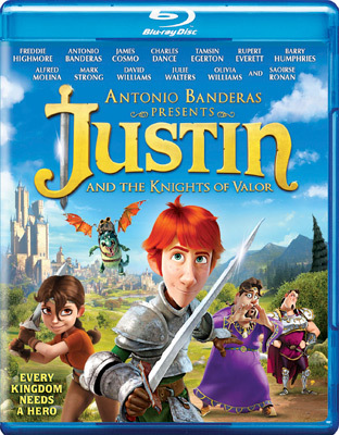 Justin And The Knights of Valor Blu-ray