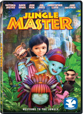 Jungle Master DVD Box Art