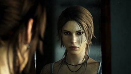 Lara Croft in Rise Of The Tomb Raider.