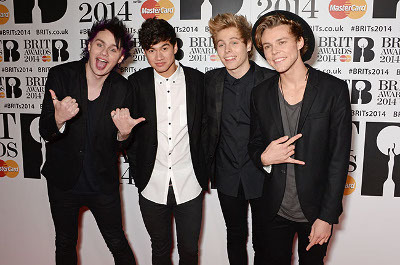 5 Seconds of Summer have some big fans - 1D!