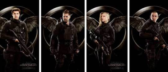 MOCKINGJAY | The Rebel Warrior Posters!
