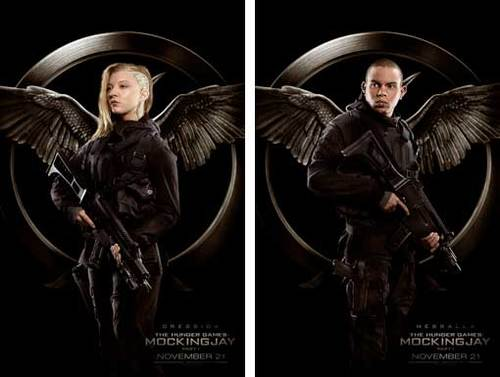Cressida and Messalla Rebel Warrior Posters