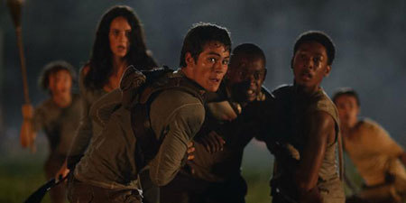 The Gladers hold Thomas back