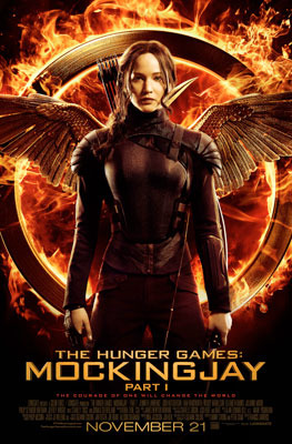 Mockingjay Part 1 Katniss Poster