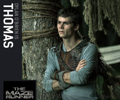 Dylan O'Brien as Thomas