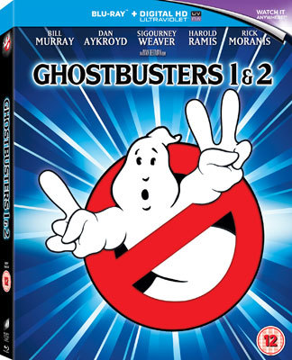Ghostbusters 1 and 2 Cover art