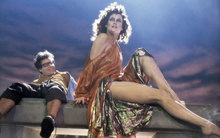 Dana (Sigourney Weaver) possessed by demon Gozer