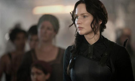 Katniss isn't taking any guff from District 13