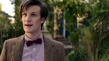 Matt Smith trades hunting Daleks for hunting zombies