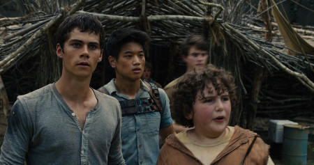 Thomas, Chuck and Minho realize they have to enter the maze