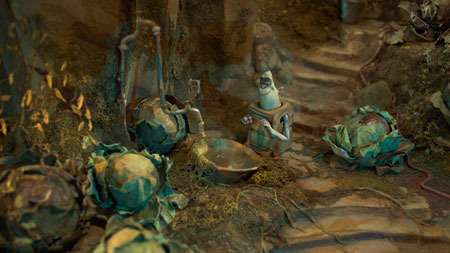 Boxtrolls grow veggies underground