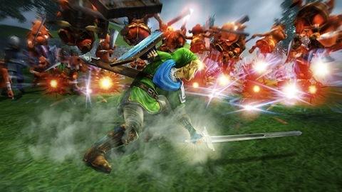 Hundreds of enemies? No problem for Link.
