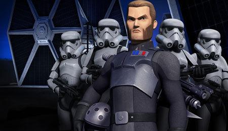 Empire enforcer Kallus