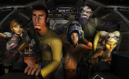 Kanan and the crew of the Ghost