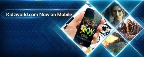 Kidzworld Mobile is now LIVE!