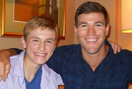 Nathan Gamble and Austin Stowell at our interview