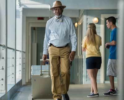 Morgan Freeman returns as Dr. McCarthy