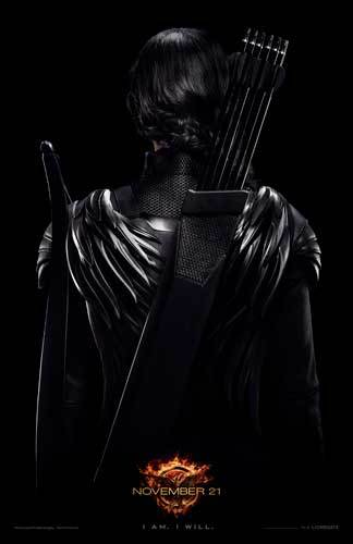 Katniss Rebel Warrior Teaser Poster