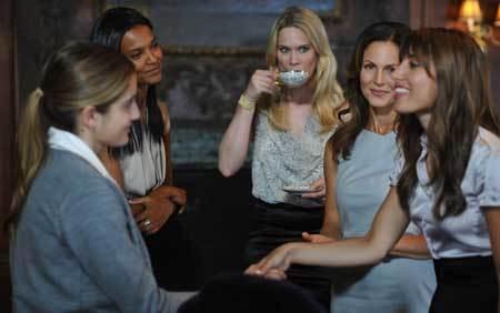 Beckett has no idea the hot book club ladies are supernatural creatures