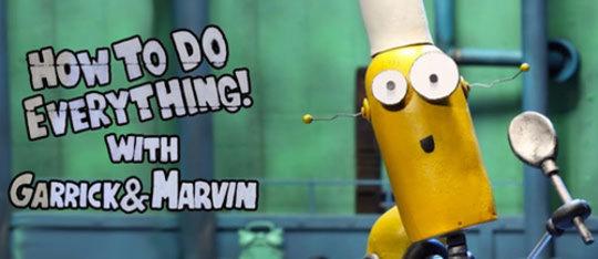 Exclusive Clip: Stop Motion Robots on DreamWorksTV