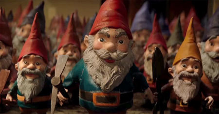 The killer gnomes attack!