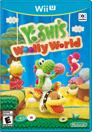 Yoshi's Woolly World is available now for Wii U!