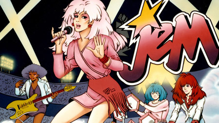 The animated version of Jem and the Holograms