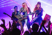 Jem and the Holograms Stars Aubrey Peeples and Ryan Guzman