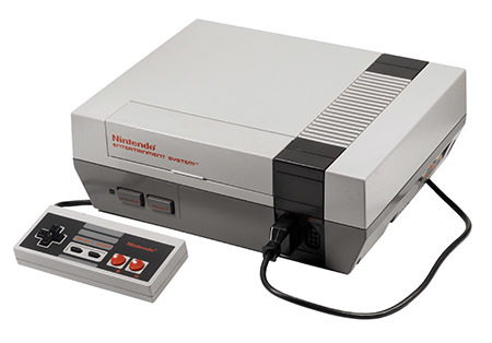 The console that started it all... the NES.