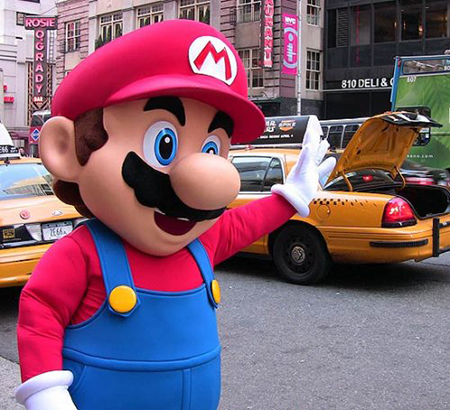 Not a historically accurate depiction of Nintendo's Taxi venture