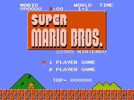 Still one of the greatest games ever, Super Mario Bros.