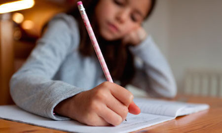 How much time should children spend on homework?