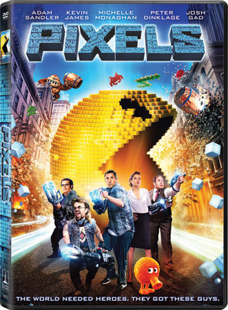 Pixels DVD is now available!