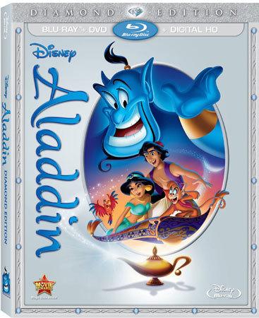 Aladdin Diamond Edition Blu-ray Cover