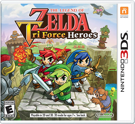 The Legend Of Zelda: Tri Force Heroes is available now!