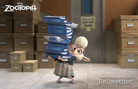 Zootopia Character Bellwether
