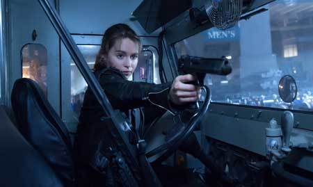 Sarah Connor in action