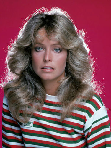 Farrah Fawcett made this hairstyle iconic!