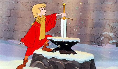 Arthur in The Sword in the Stone