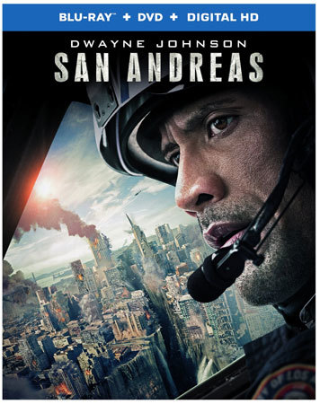 San Andreas Blu-ray Cover