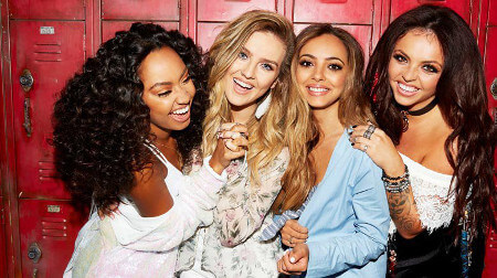 Little Mix is  Jade Thirlwall, Perrie Edwards, Leigh-Anne Pinnock, and Jesy Nelson