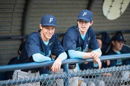 Cam and Nash at the game