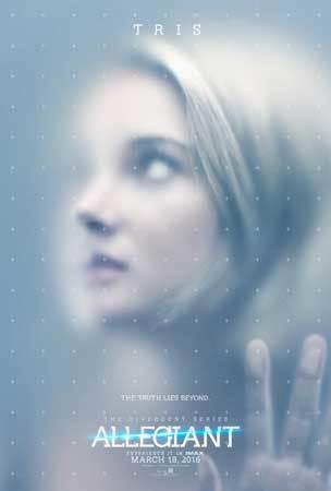 Allegiant Poster featuring Tris