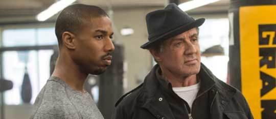 Michael B. Jordan and Sly Stallone Talk Creed