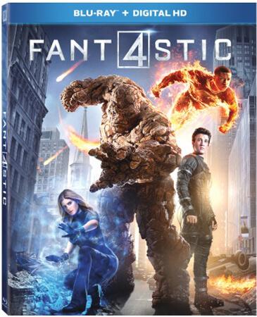 Fantastic Four Blu-ray